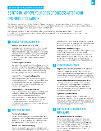 Infographic - Product Launch Tips