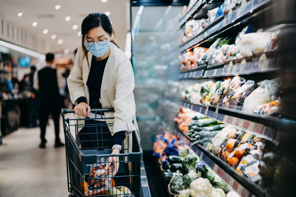 Covid-positive households are altering their eating habits