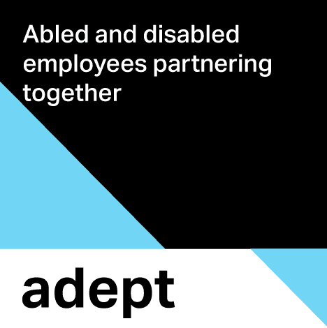 Adept - Abled and disabled employees partnering together