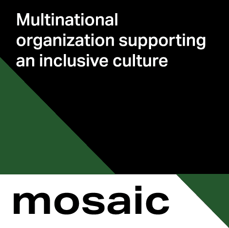 Mosaic - Multinational organization supporting an inclusive culture